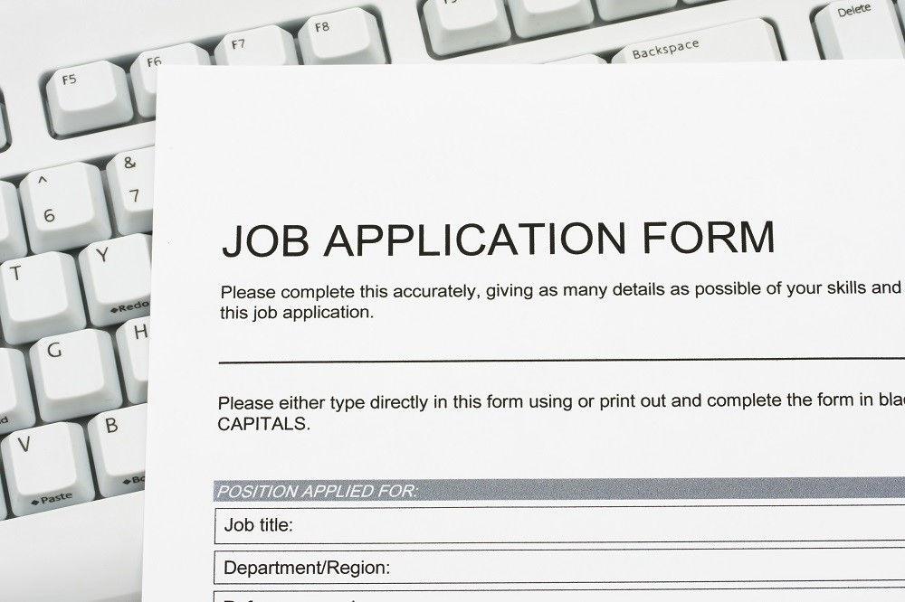 Job application form in the Philippines